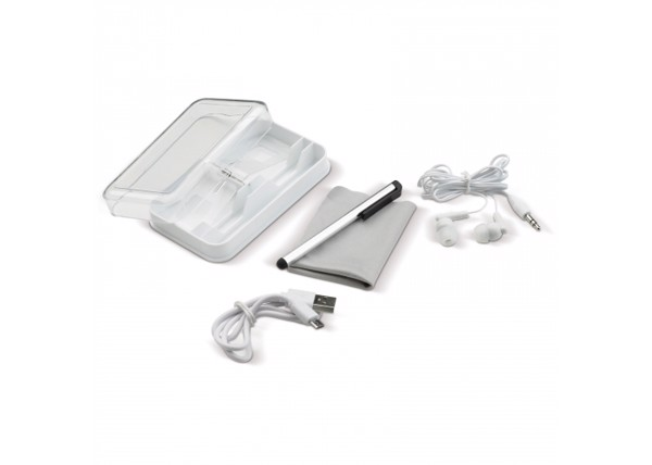 Electronic accessories case - White