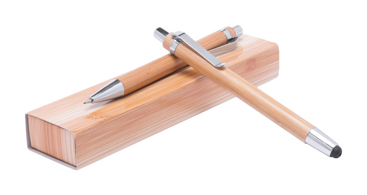 Komplet bambusovih pisal Heleon - Natural