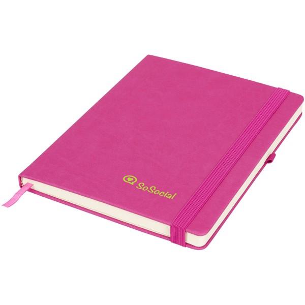 Rivista large notebook - Magenta
