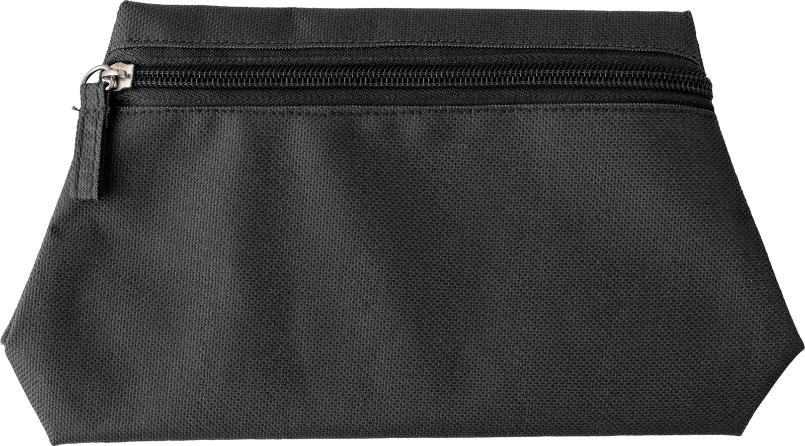 Polyester (600D) toilet bag - Black