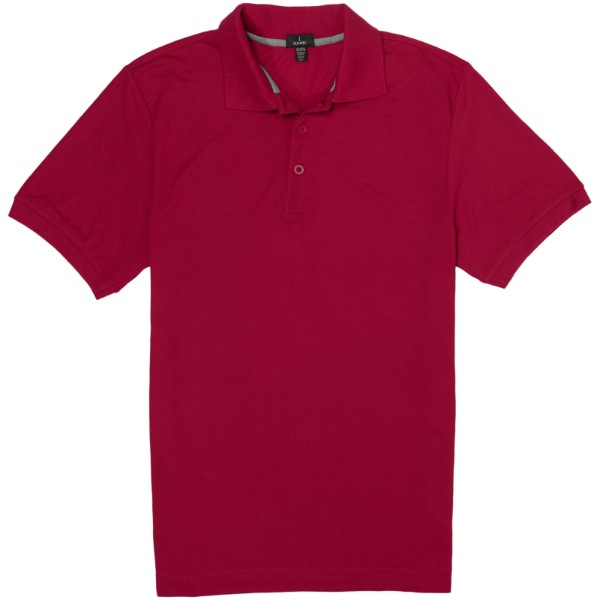 Crandall short sleeve men's polo - Red / L