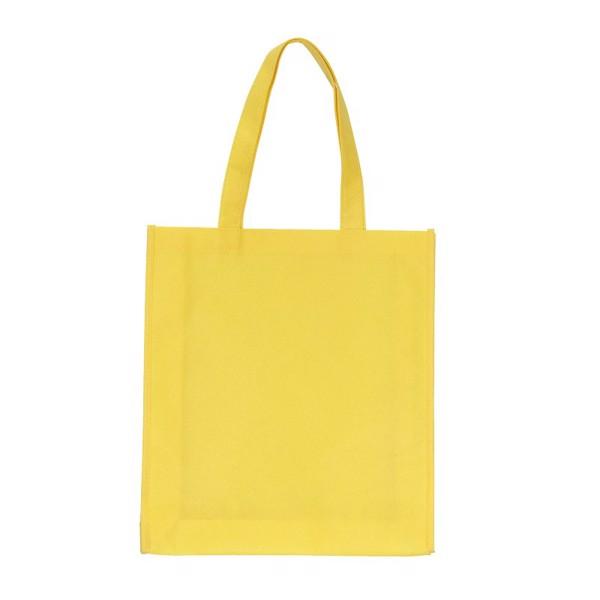 Torba na zakupy Non Woven długie uszy - Żółty