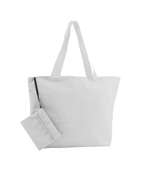Beach Bag Monkey - White