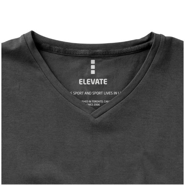 "Camiseta orgánica de manga corta para hombre ""Kawartha"" - Antracita / L"