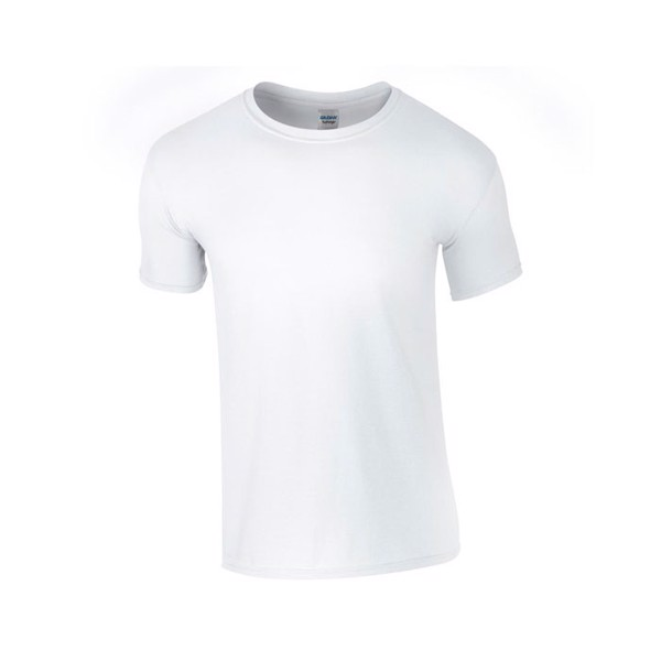 T-Shirt 141 g/m² Ring Spun T-Shirt 64000 - White / XXL