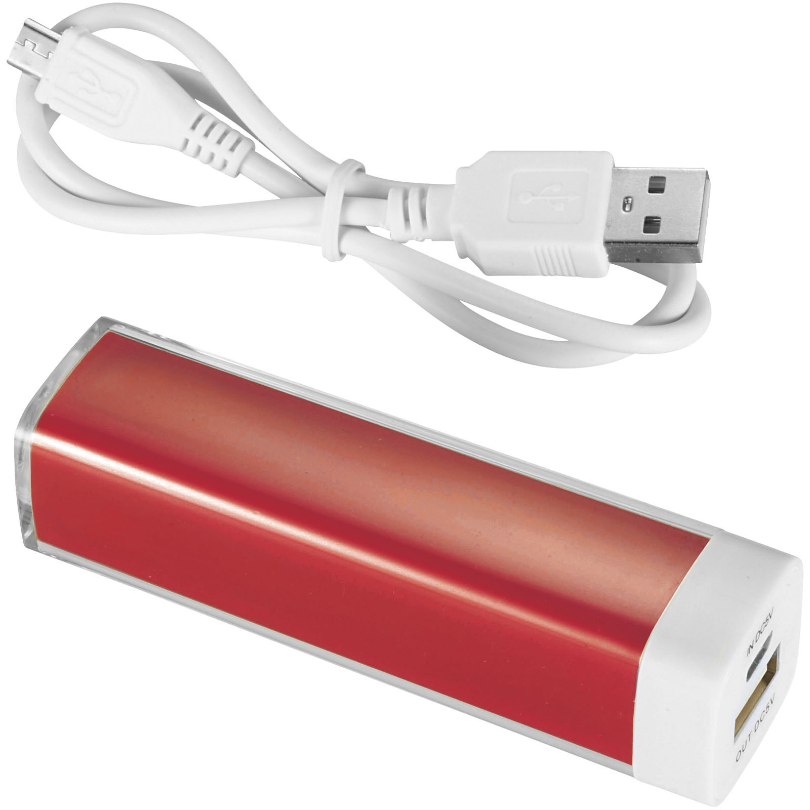 Powerbank 2200 mAh Flash - Czerwony