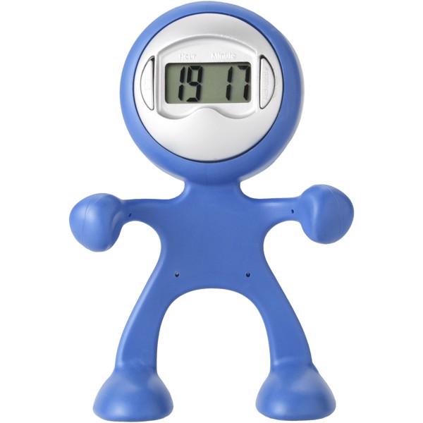 Flexi alarm clock and smartphone holder