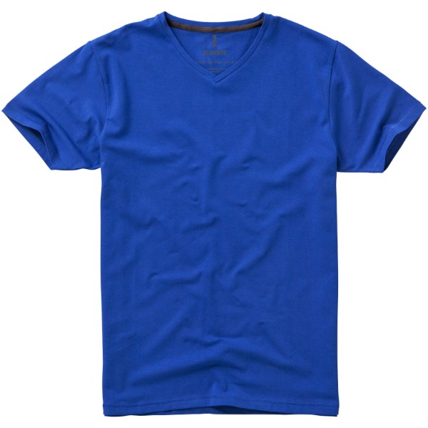 Kawartha short sleeve men's GOTS organic t-shirt - Blue / XXL