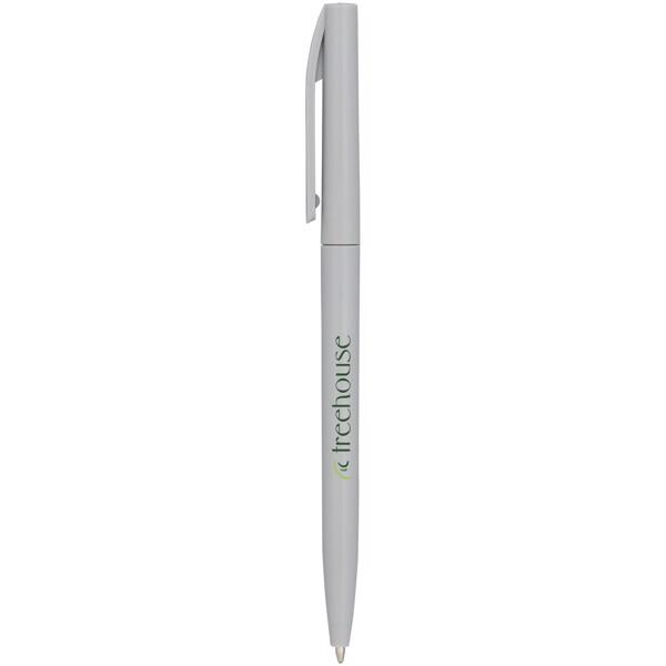 Pevné kuličkové pero Mondriane - Šedá
