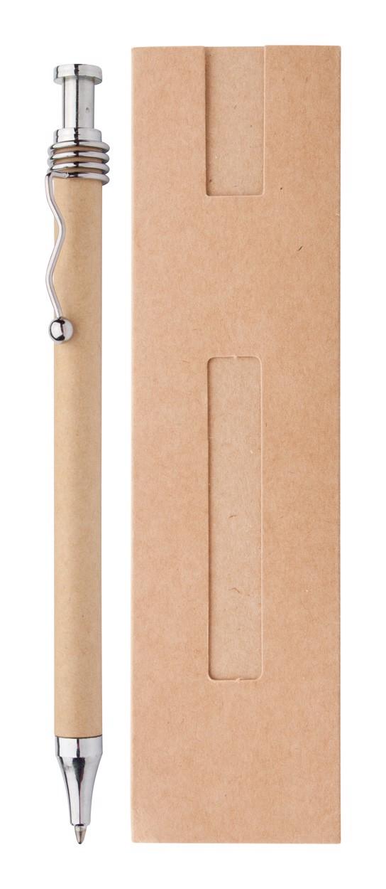 Ballpoint Pen Natura - Silver / Beige