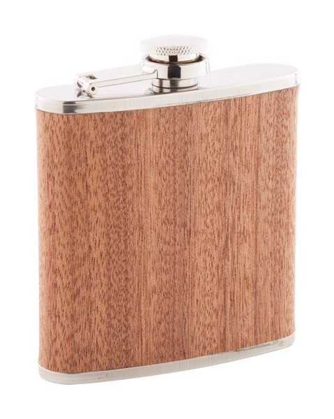 Hip Flask Forester - Beige / Silver