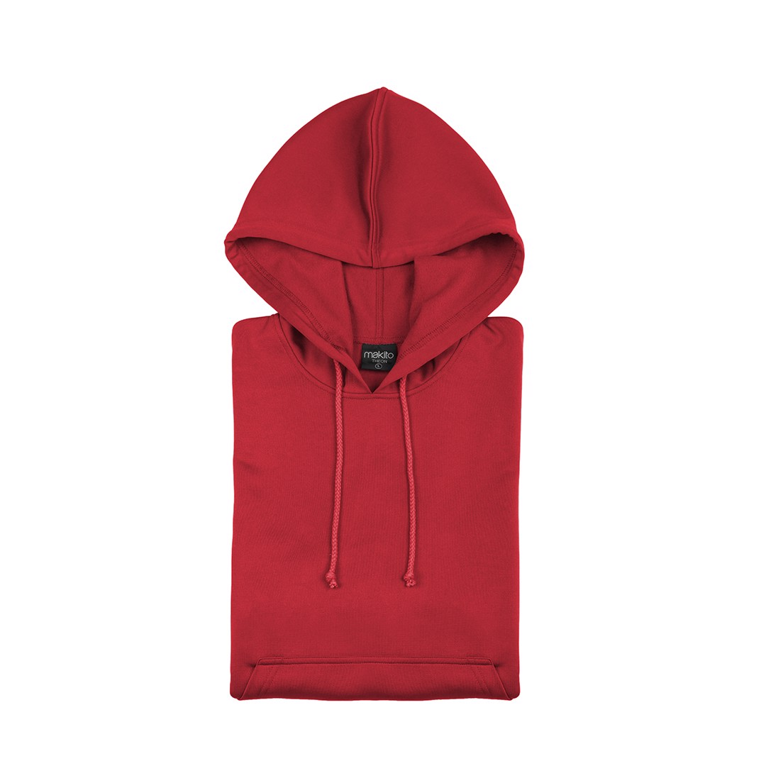 Sudadera Técnica Niño Theon - Rojo / 4-5