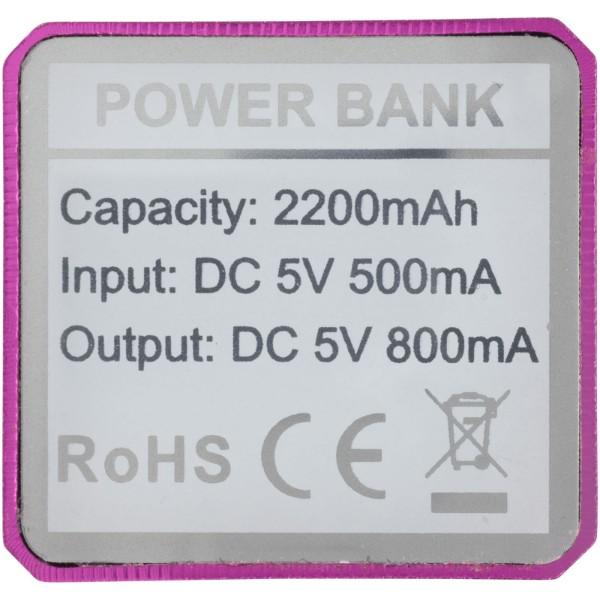 Powerbank WS101 2200/2600 mAh - Pink