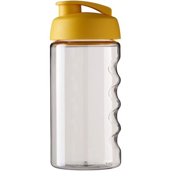 H2O Bop® 500 ml flip lid sport bottle - Transparent / Yellow