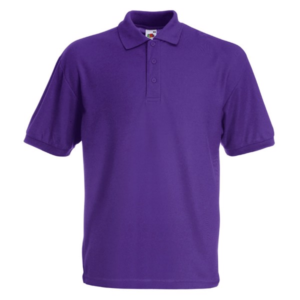 Polokošile piqué 65/35 Blended Polo 63-402-0 - Purple / XL