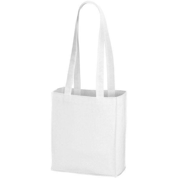 Mini Elm non-woven tote bag - White