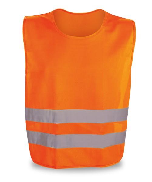 THIEM. Chaleco reflectante - Naranja