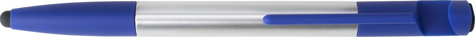 ABS 6-in-1 ballpen - Blue / Silver