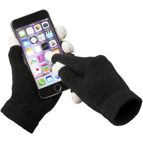 Hmatové rukavice Billy - Černá
