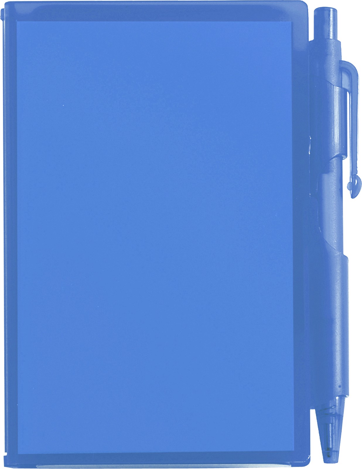 ABS notebook with pen - Blue