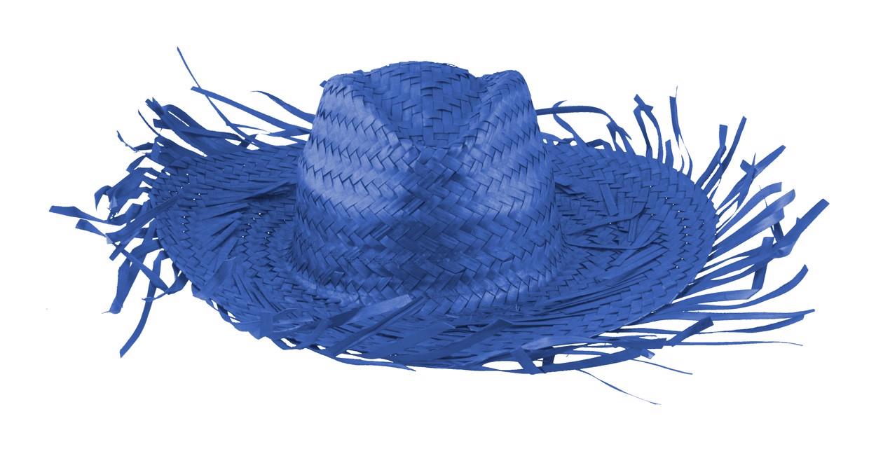 Slaměný Klobouk Filagarchado - Modrá
