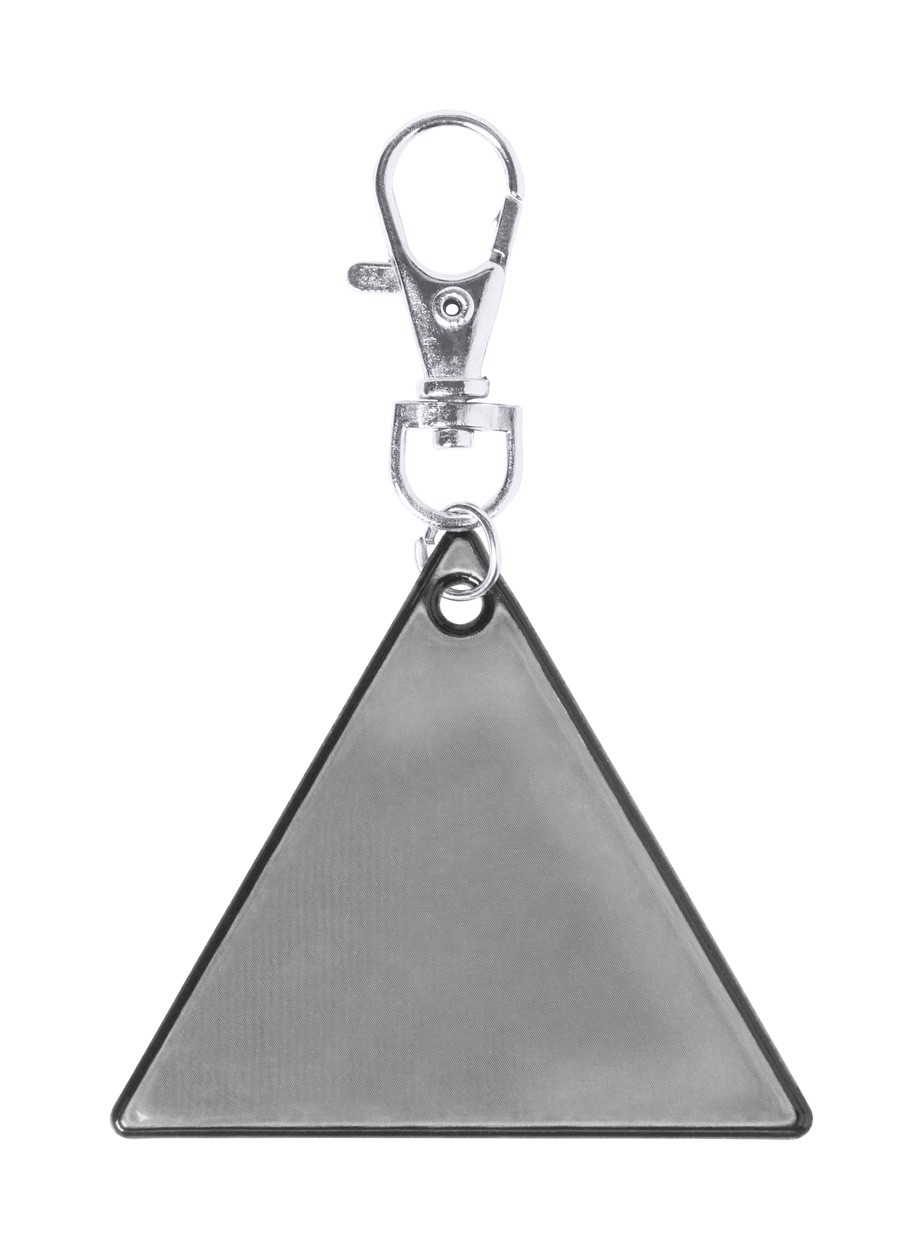 Reflexní Přívěšek Na Klíče Koreflec - Stříbrná