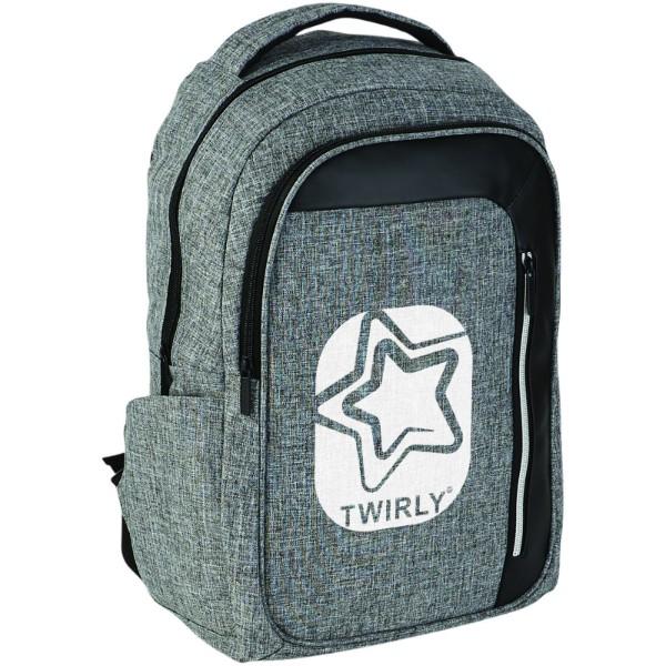 "Vault RFID 15"" laptop backpack - Heather grey / Solid black"