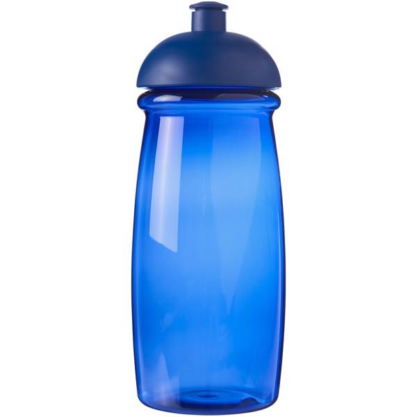 Sportovní láhev s kupolovitým víčkem H2O Pulse® 600 ml - Modrá