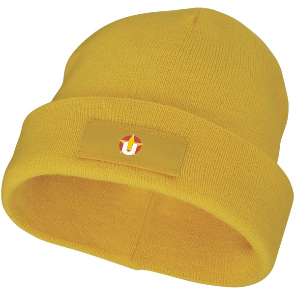 Boreas beanie with patch - Yellow