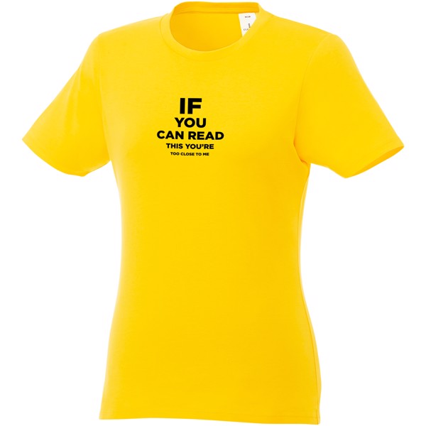 Heros short sleeve women's t-shirt - Yellow / XL