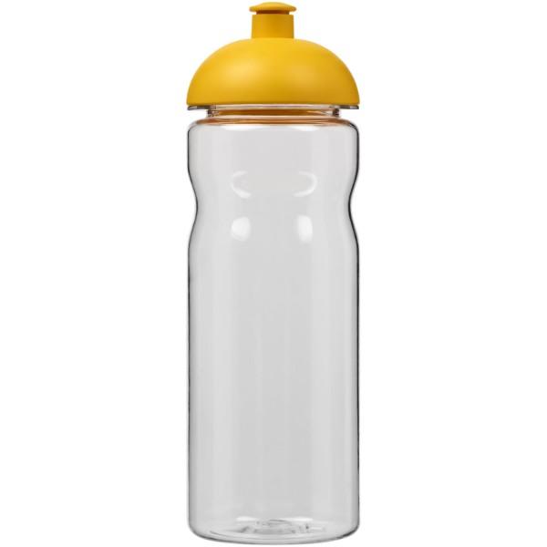 Sportovní láhev s kupolovitým víčkem Base Tritan™ 650 ml - Průhledná / Žlutá