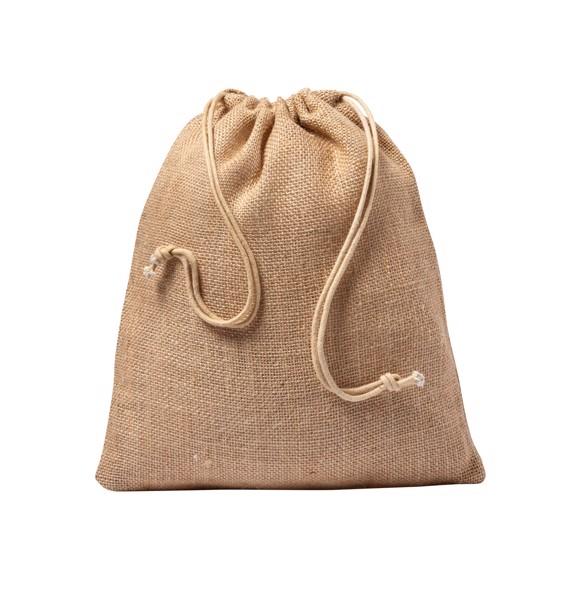 Jute Gift Bag Vagan - Natural