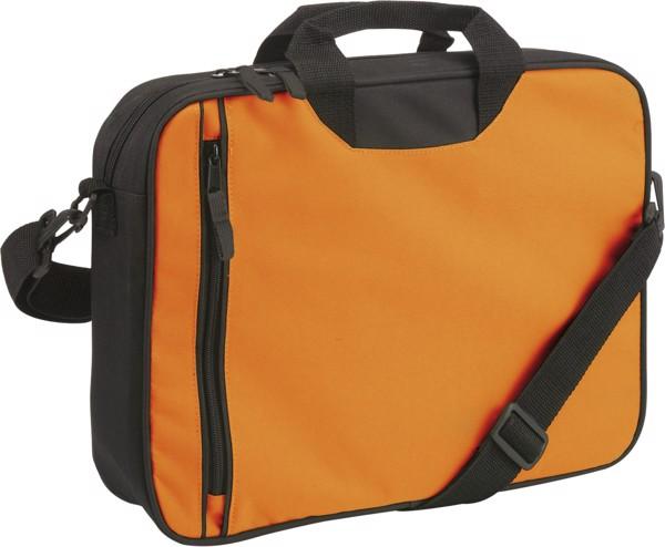 Polyester (600D) shoulder bag - Black