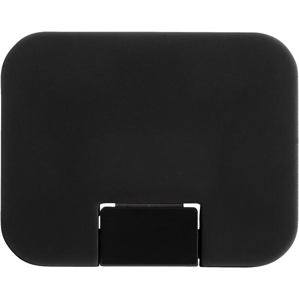 Gaia 4-port USB hub - Solid black