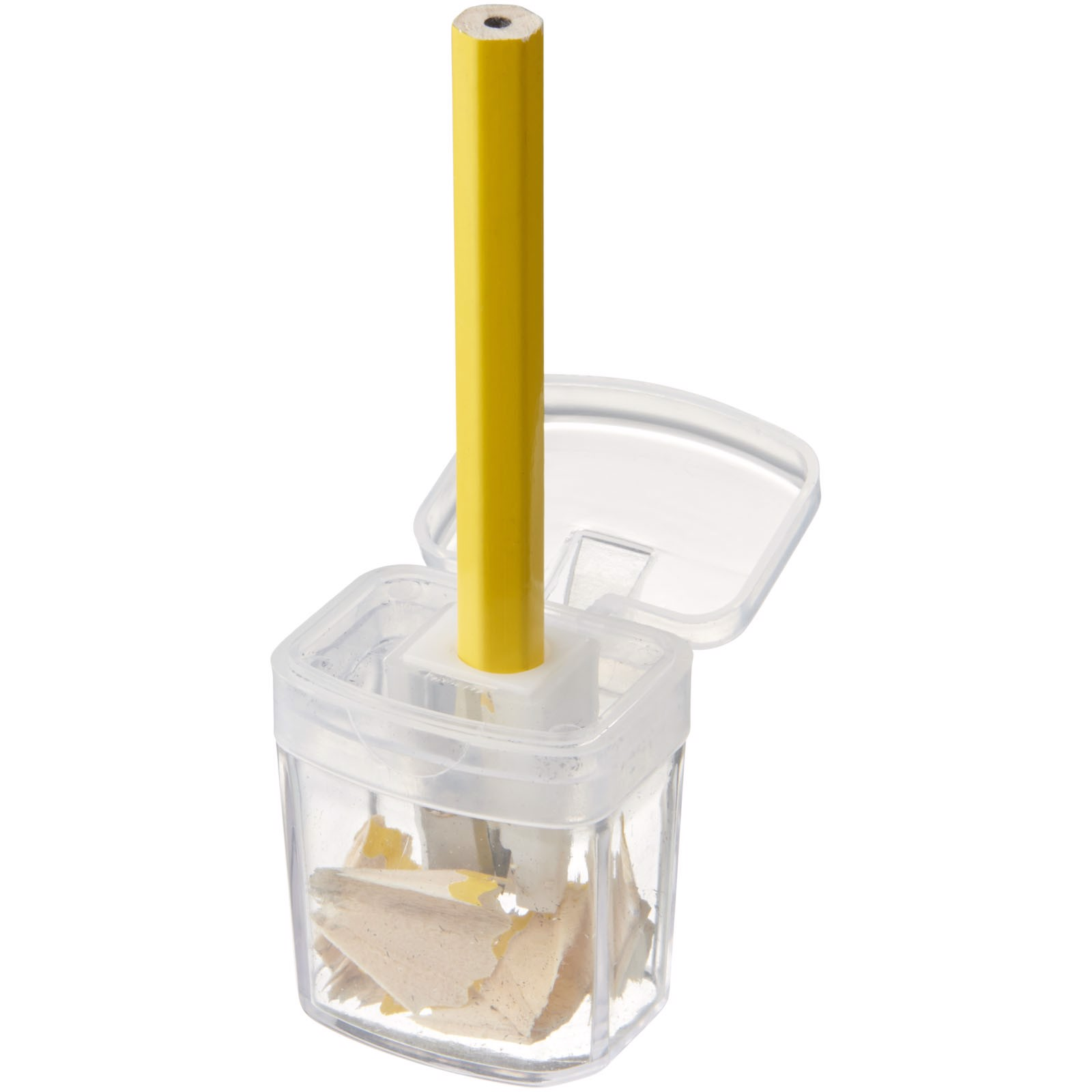 Sharpi sharpener with container - White