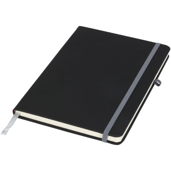 Noir A5 Notizbuch - Schwarz / Grau