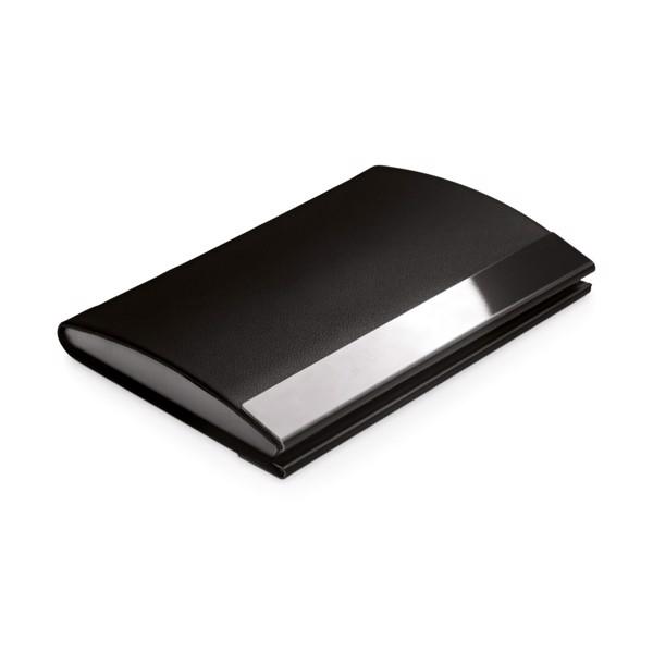 SANDLER. Metal card holder