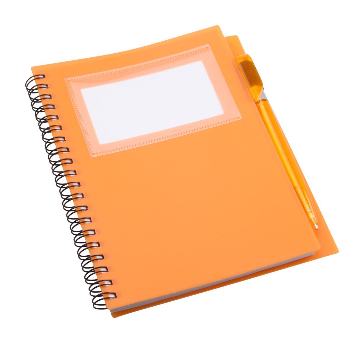 Poznámkový Blok Tagged - Oranžová