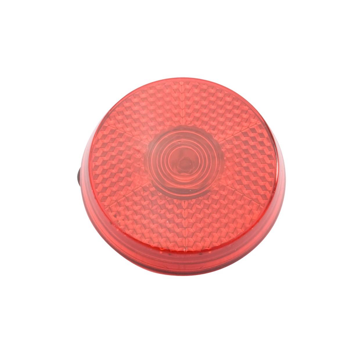 Reflektor s sponko Red-Light - rdeč