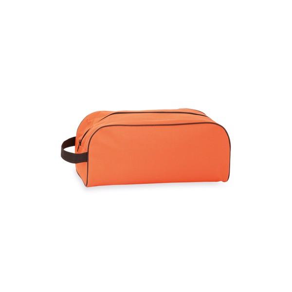Sac Chaussures Pirlo - Orange/Bleu