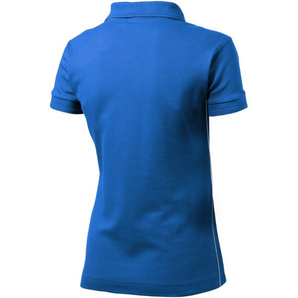 Dámská polokošile Backhand - Nebeská modrá / XL