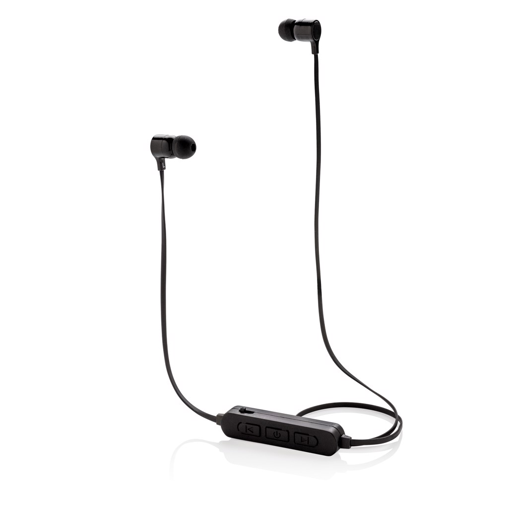 Brezžične slušalke s svetlečim logotipom