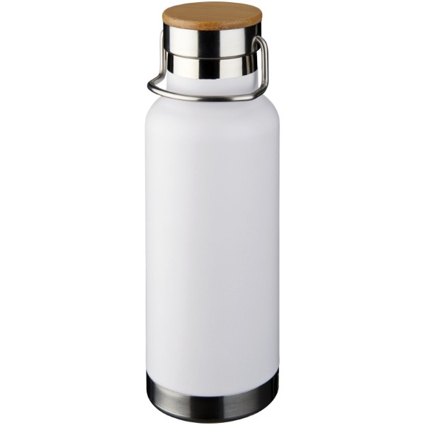 Thor 480 ml sportovní lahev s vakuovo-měděnou izolací - Bílá