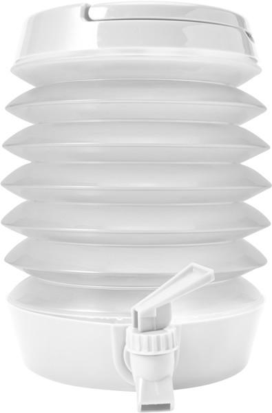 Getränkespender 'Foldable' aus Kuntstoff - White