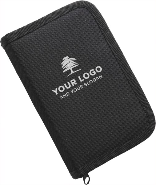 Nylon wallet with playing cards