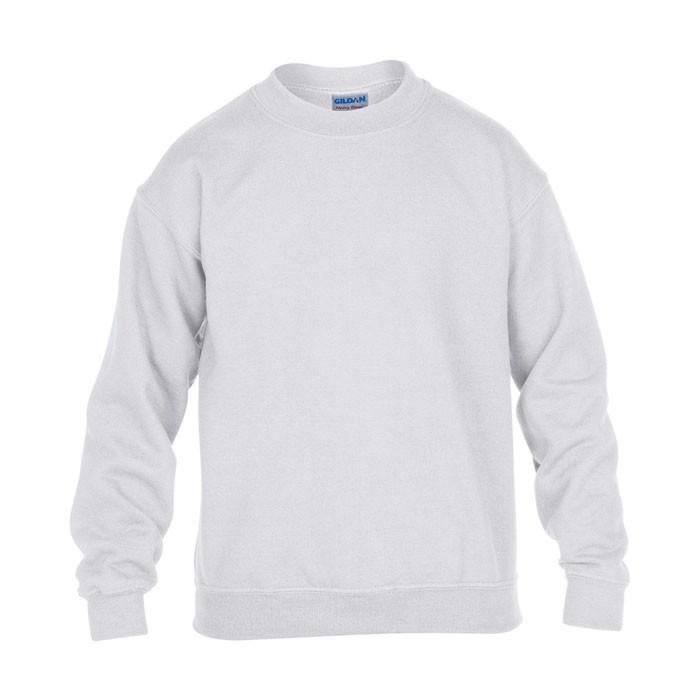 Mikina pro mladé Youth Crew Neck 18000B - White / XS
