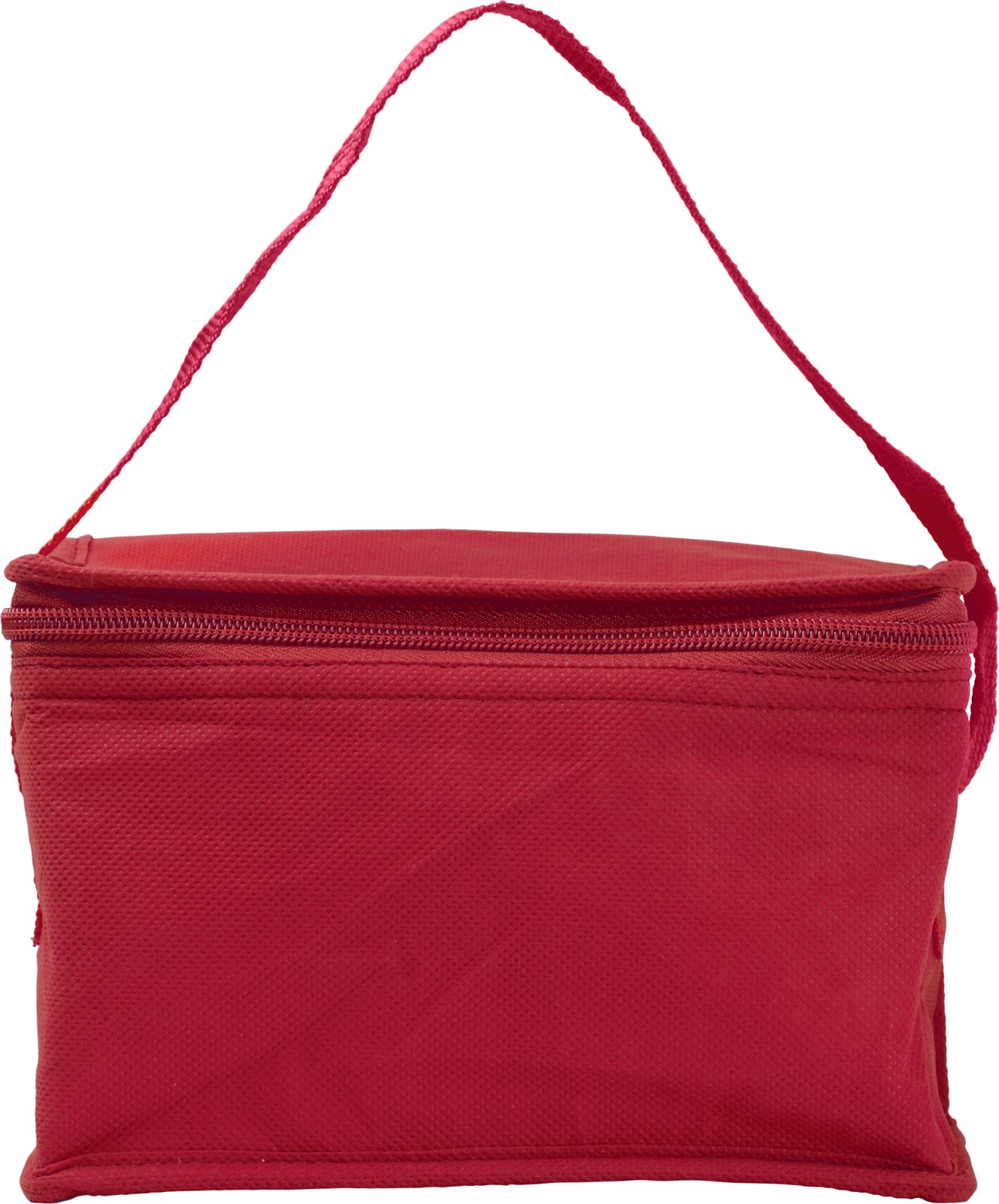 Nonwoven (80 gr/m²) cooler bag - Red