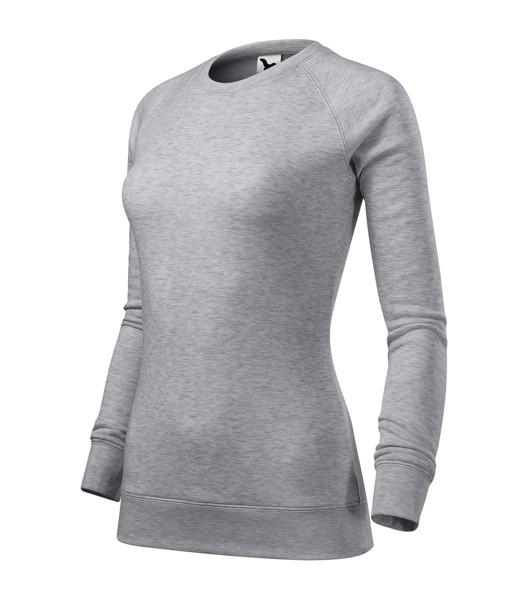 Sweatshirt Ladies Malfini Merger - Silver Melange / M