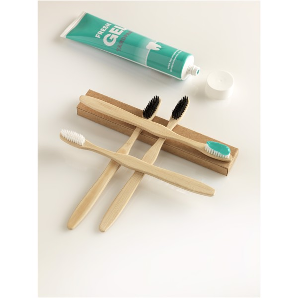 Celuk bamboo toothbrush - White