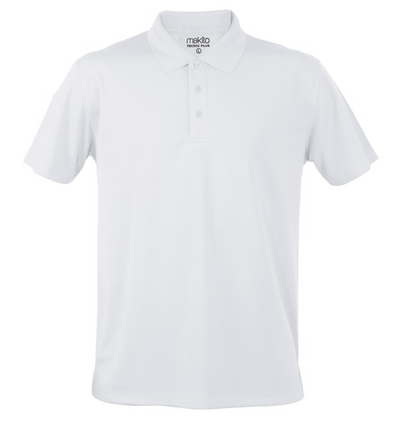 Polo Tecnic Plus - Blanco / S